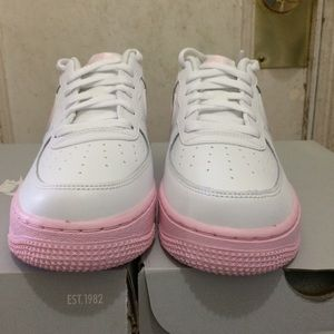 Nike Air Force 1 Low Pink Foam White GS